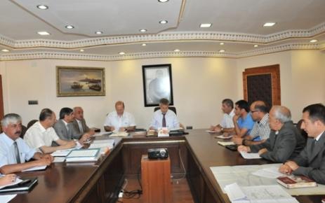 Organize Sanayi Bölgesi Yönetim Kurulu Toplandı