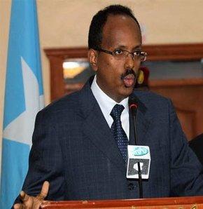 Somali Başkanı'ndan istifa!