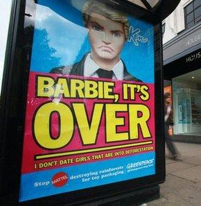 Ken, Barbie'yi terk etti