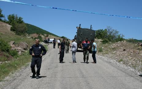 Tunceli'de mayın saldırısı