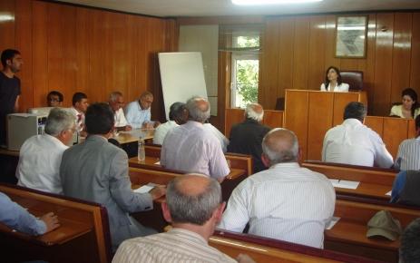 Tunceli'de katı atık toplantısı