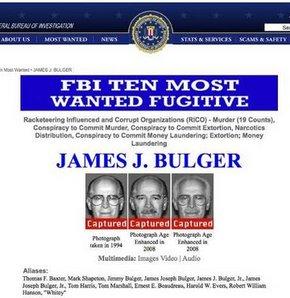 FBI'ın 16 yıldır aradığı Bulger yakalandı