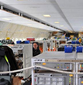 İşte Boeing'in yeni modelinin içi GALERİ