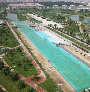 Ve Eskişehir plajı yeniden hizmete giriyor GALERİ