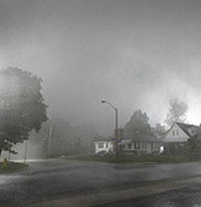 Fırtına Kanada'yı vurdu