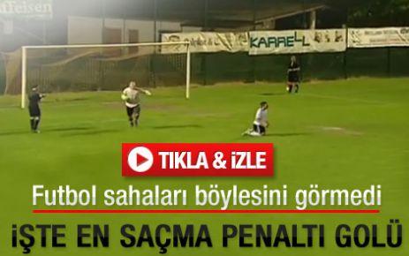 Yok böyle penaltı golü