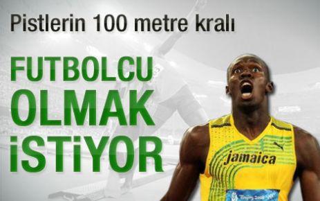 Bolt'un aklı ManU'da