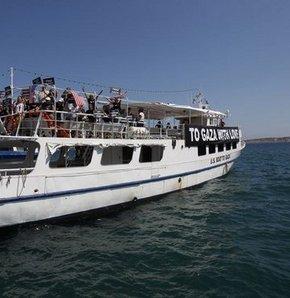 Özgürlük Filosuna Yunan engeli