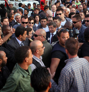 Tahrir'de Libyalılara seslendi