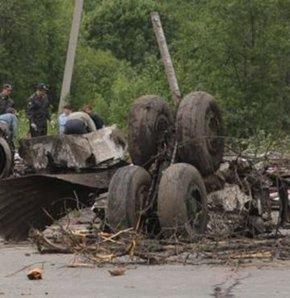 112 kişiyi taşıyan yolcu uçağı düştü
