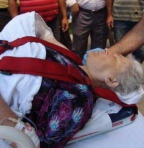 Kopan kolu dikmek için  3 saat hastane arandı