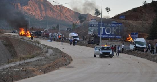 Tunceli'deki patlamayla ilgili 2 kişi tutuklandı