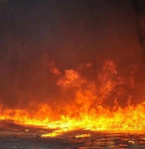 Huzurevinde yangın