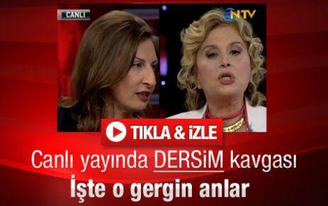Mert ile Ilıcak'ın Dersim katliamı tartışması - Video