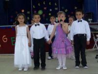 Pülümür'de okul öncesi eğitim şenliği