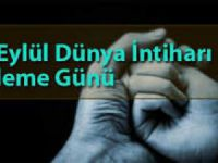 Halk Sağlığı Müdürlüğü'nden 10 Eylül Dünya İntiharı Önleme Günü Çalışmaları