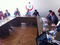 Sağlık Grup Başkanları toplandı