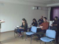 Sağlık personeline psikososyal eğitimi verildi