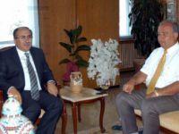 Tunceli Üniversitesi Rektörü Boztuğ, Vali Savaş'ı Ziyaret Etti