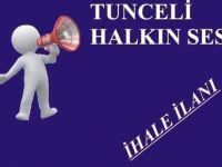 İHALE İLANI - TUNCELİ ÜNİVERSİTESİ  Sağlık, Kültür ve Spor Daire Başkanlığı
