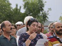 Dersim'de Darbe protesto edildi