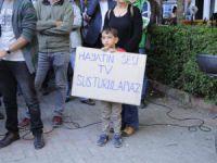 Dersimliler, Televizyonların Karartılmasını Protesto Etti