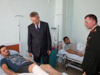 Vali Taşkesen'den Gazilere Ziyaret