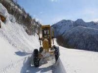 Dersim'de 178 köy yolu ulaşıma kapandı