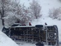 Dersim'de trafik kazası: 10 yaralı