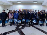 Vali Kaymak Teog'da Başarılı Öğrencileri Ödüllendirdi