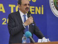 Hisarcıklıoğlu, Dersim'de  temel atma törenine katıldı