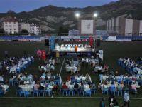 Vakıf ve belediye iftar düzenledi