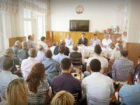 """Çemişgezek'te """"Okul Güvenliği"""" toplantısı yapıldı"""