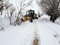 Dersim'de 242  Köy yolu ulaşıma kapalı