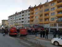 Atatürk Mahallesinde yangın
