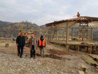 Vali Sonel, devam eden projeleri inceledi