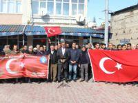 Çemişgezek'te Zeytin Dalı harekatına destek