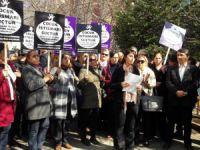 CHP'den çocuk istismarı protestosu