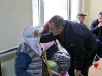 Sonel'den huzurevi ve rehabilitasyon merkezine ziyaret