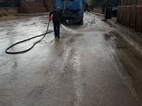 Hozat'ta temizlik çalışması başladı