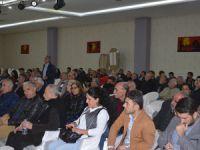 """Dersim'de """"Seçim süreci ve Türkiye'de demokrasi mücadelesi"""" toplantısı"""