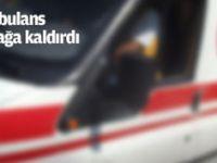 Kaçırılan ambulans Tunceli'yi ayağa kaldırdı