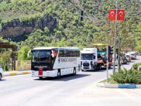Belediye 10 yeni aracını hizmete sundu