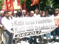 Emek Partisi'nden  İsrail'e protesto
