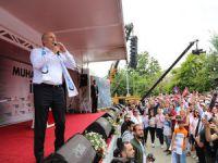 İnce, Kılıçdaroğlu'nun memleketi  Dersim'de  konuştu