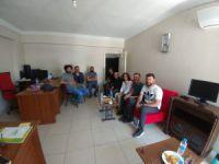 Milletvekili adaylarından gazetecilere ziyaret