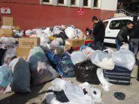Tunceli'den Van'a yardım