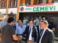 CHP Milletvekili Aydoğan'dan Tunceli'ye ziyaret