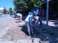 Hozat Belediyesinden aydınlatma çalışması