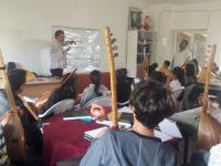 'Gezici Bağlama Atölyesi' Dersim'de  VİDEO HABER